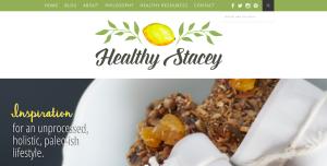 HealthyStaceyBlogWebsite