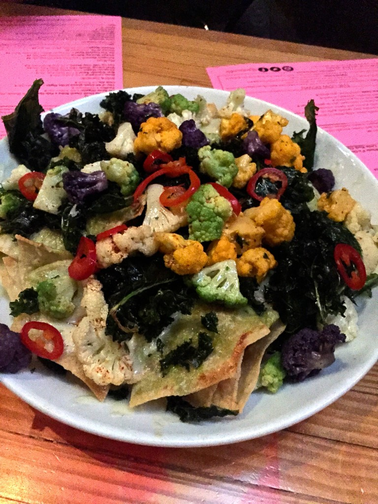 Petty Cash LA Cauliflower Nachos