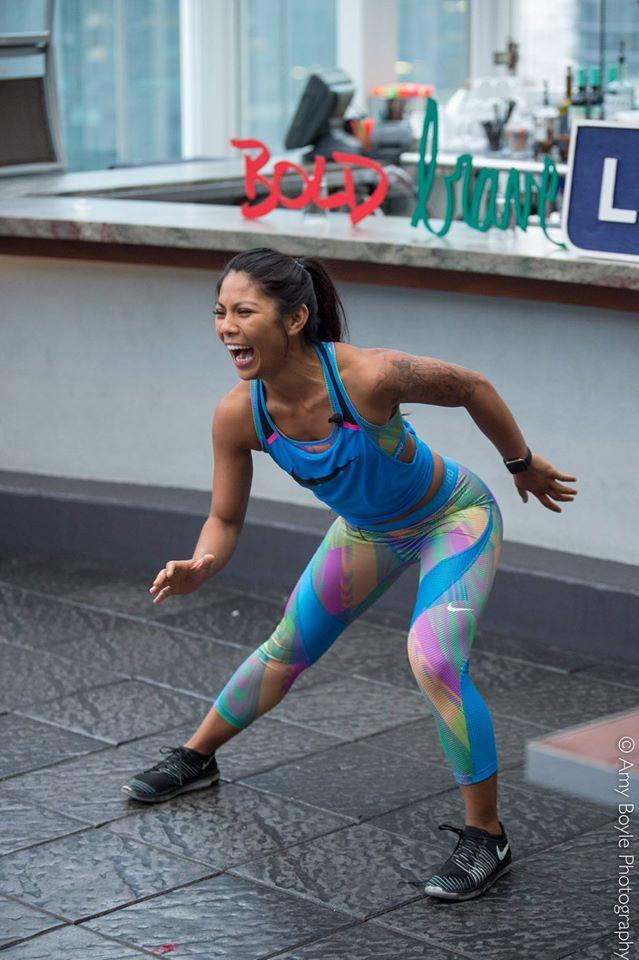 Beth Gozo Nike Trainer